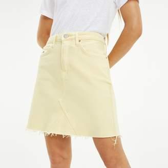 78198879b4 Tommy Hilfiger Raw Hem Denim Skirt