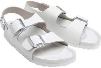 89679cdddecb Birkenstock Narrow Fit Milano Sandals White