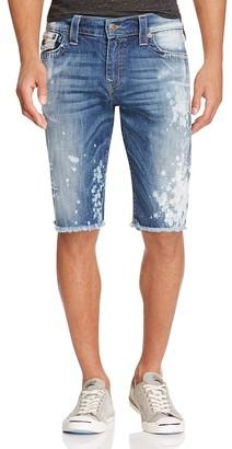 True Religion Ricky Relaxed Fit Denim Shorts in Indigo Anthem $249 thestylecure.com