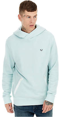 True Religion PULLOVER ZIP POCKET MENS HOODIE