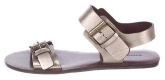 See by Chloe Metallic Leather Sandals