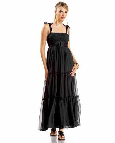 Tie Strap Smocked Dress