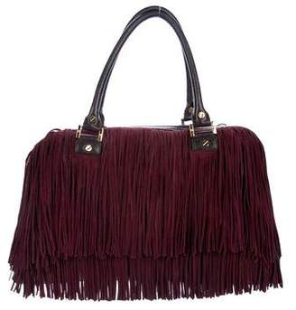 Tory Burch Leather Fringe Tote