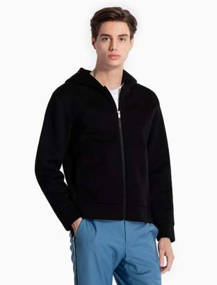 Calvin Klein modal logo zip hoodie