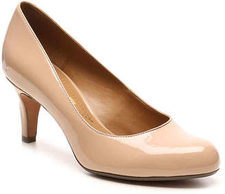Clarks Arista Patent Pump - Women's