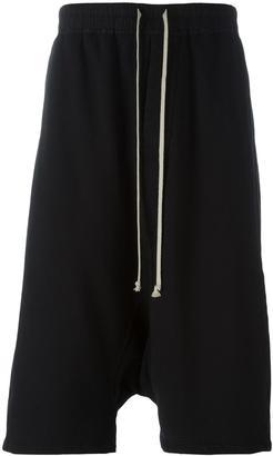 Rick Owens DRKSHDW pod shorts $594 thestylecure.com