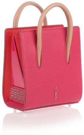 Christian Louboutin Christian Louboutin Paloma nano pink leather mini bag