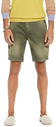 Scotch & Soda Washed Cargo Regular Fit Shorts