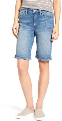 Women's Mavi Jeans Alexis Ripped Denim Shorts $88 thestylecure.com