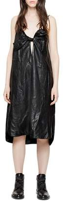 Zadig & Voltaire Ray Leather Dress