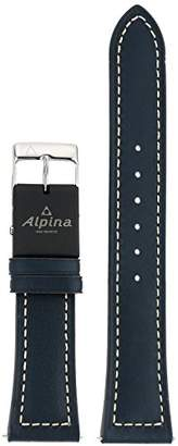 Alpina Unisex ALE-N22X18-SS E-Strap Analog-Digital Display Swiss Quartz Blue Watch