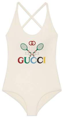 Gucci Swimsuit with Tennis
