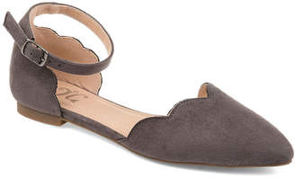 Journee Collection Womens Jc Lana Ballet Flats Buckle Pointed Toe