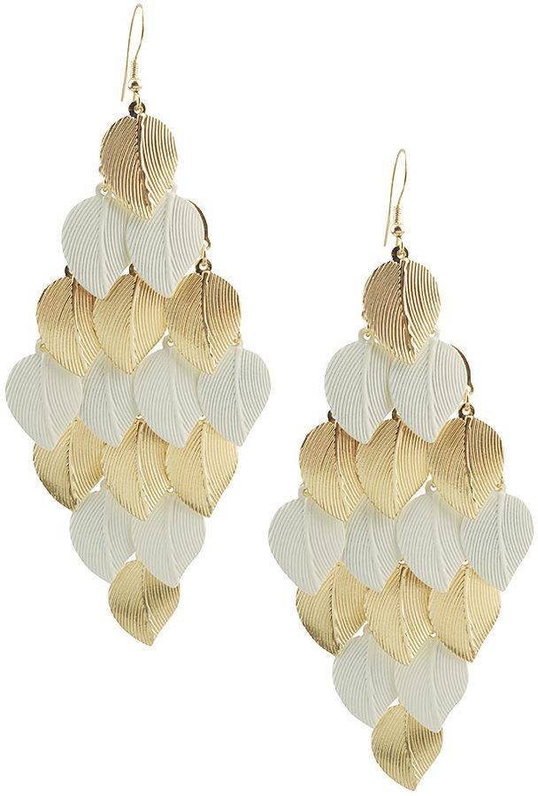 Leaf Shower Earrings