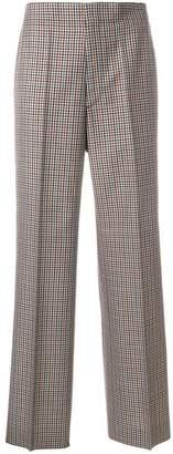 Maison Margiela plaid tailored trousers