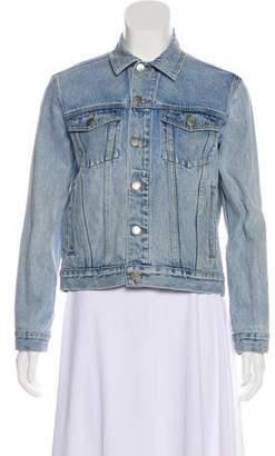 Frame Long Sleeve Denim Jacket