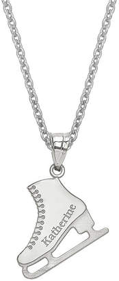 FINE JEWELRY Personalized Ice Skating Name Pendant Necklace