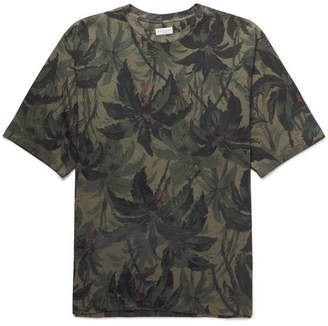 Dries Van Noten Oversized Printed Cotton-Jersey T-Shirt