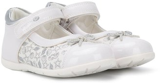 Geox Kids sea motifs ballerinas