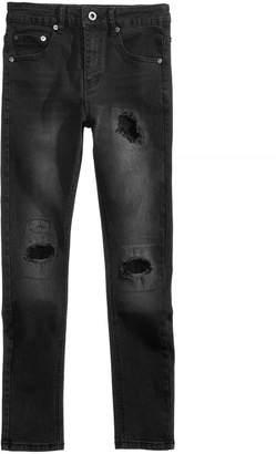 Sean John Washed Denim Destructed Jeans, Big Boys