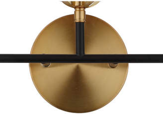 Jonathan Y Caleb 3-Light Brass Wall Sconce