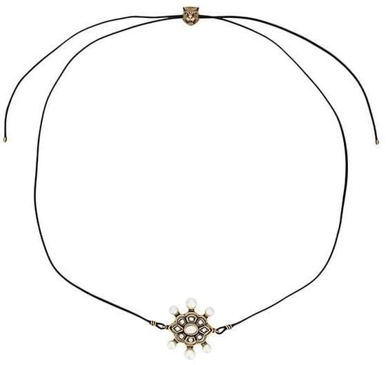 embellished wrap-around bracelet