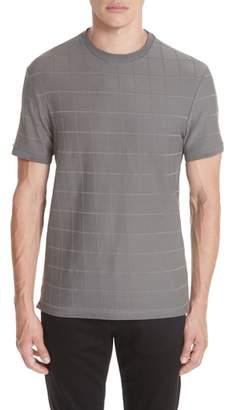 Emporio Armani Stripe Stretch Crewneck T-Shirt