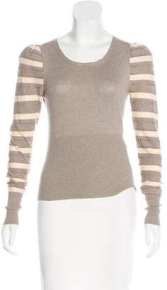 Marc by Marc Jacobs Striped Long Sleeve Top