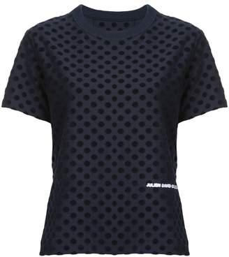 Julien David polka dot T-shirt