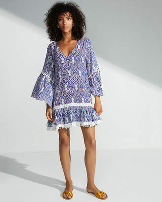 Express Bell Sleeve Tunic Cover-Up