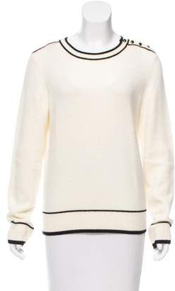 Vanessa Seward Long Sleeve Knit Sweater
