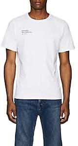 Saturdays NYC Men's Rag Logo-Print Cotton Jersey T-Shirt - White