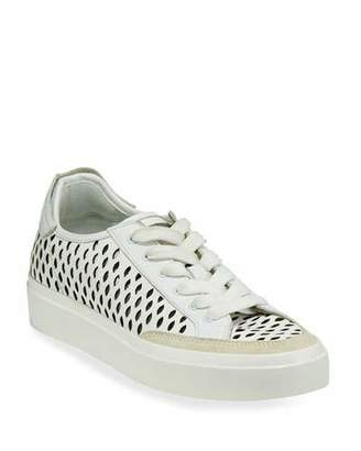 Rag & Bone Army Cutout Leather Low-Top Sneakers