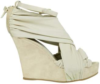Givenchy Beige Suede Heels
