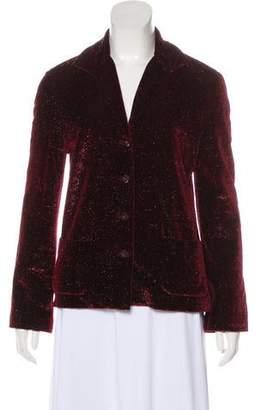 Marc Jacobs Metallic Textured Blazer