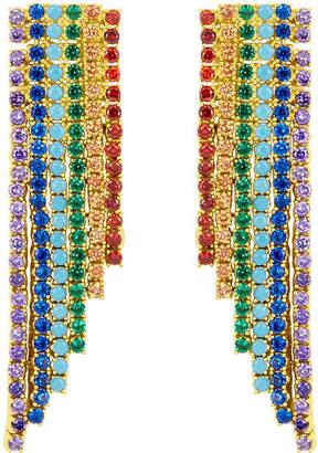 Henri Bendel Rainbow Linear Earring