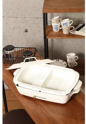 Br.Uno [TOKYO DESIGN CHANNEL]【 】ブルーノ ホットプレート グランデサイズ用 仕切り鍋