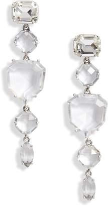 Kate Spade Crystal Linear Drop Earrings