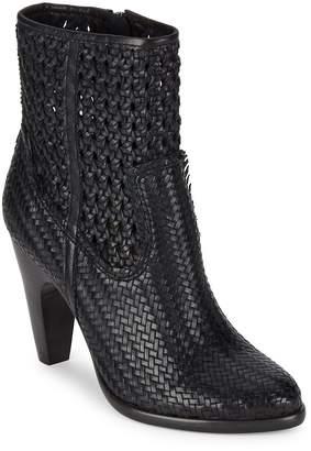 Frye Women's Celeste Woven Leather Booties