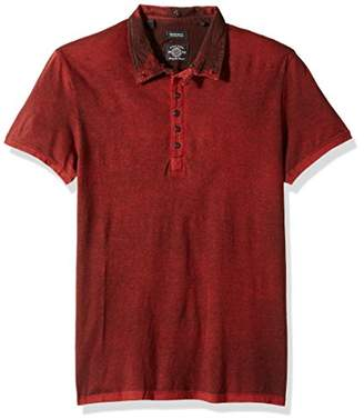 Buffalo David Bitton Men's Kohan Short Sleeve Henley Top