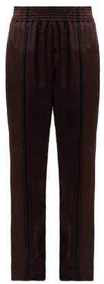 Haider Ackermann Kuiper Satin Trousers - Womens - Brown