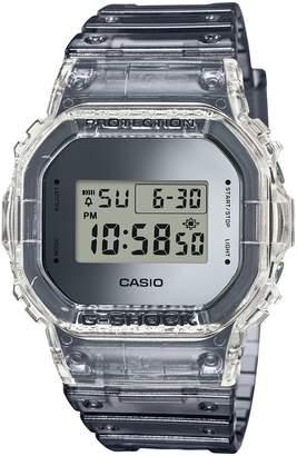 Casio G-Shock Grey Skeleton Resin-Strap Watch