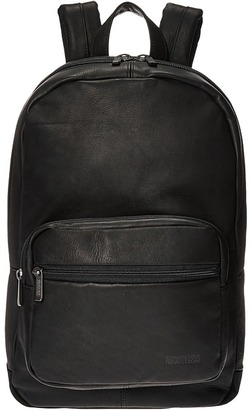 Kenneth Cole Reaction - Ahead of the Pack - Leather Backpack Backpack Bags $400 thestylecure.com