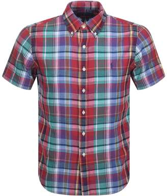 80a0400b93b35 Ralph Lauren Short Sleeve Shirt Check Men - ShopStyle UK