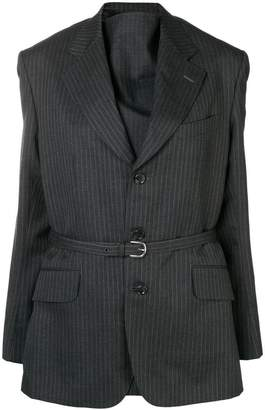 Junya Watanabe oversized striped blazer