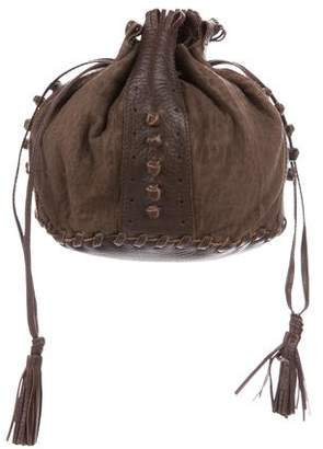 Bottega Veneta Suede Bucket Bag