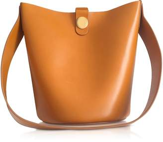 Sophie Hulme Shiny Saddle Leather The Swing Bag
