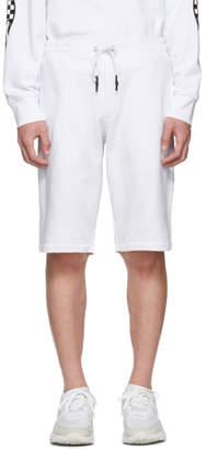 McQ White Dart Sweat Shorts