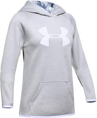 Under Armour Girls' Armour Fleece Big Logo Twist Hoodie