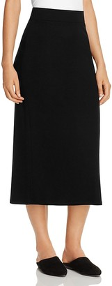 Eileen Fisher Knit Midi Skirt $138 thestylecure.com